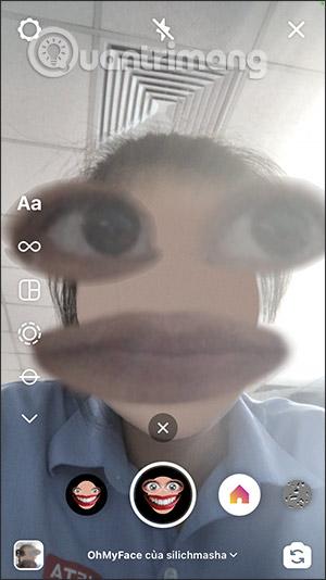 Cách tải filter Ohmyface hài hước trên Instagram - Ảnh minh hoạ 7