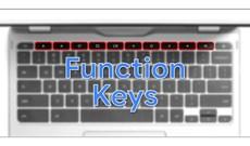Cách sử dụng các phím chức năng trên bàn phím Chromebook
