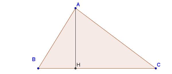Đường cao trong tam giác