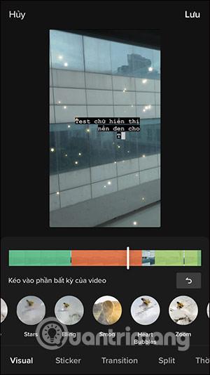 Cách làm video TikTok chữ chạy nền đen - Ảnh minh hoạ 10
