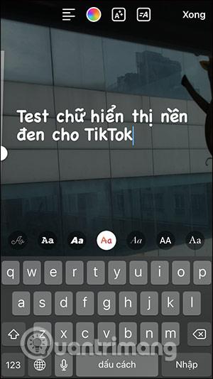 Cách làm video TikTok chữ chạy nền đen - Ảnh minh hoạ 4