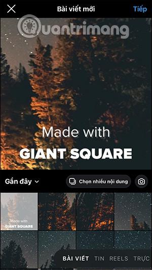 Cách tạo ảnh nổi bật Instagram 9 ảnh ghép - Ảnh minh hoạ 7