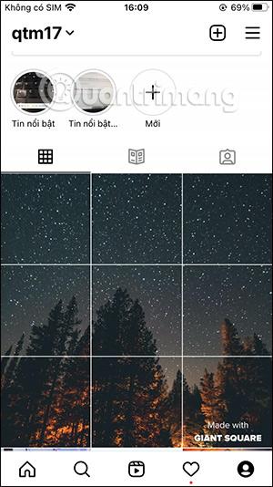 Cách tạo ảnh nổi bật Instagram 9 ảnh ghép - Ảnh minh hoạ 8