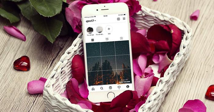 Cách tạo ảnh nổi bật Instagram 9 ảnh ghép