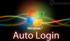 Cấu hình tự động đăng nhập (Auto-Login) cho Windows 7 Domain hoặc Workgroup PC