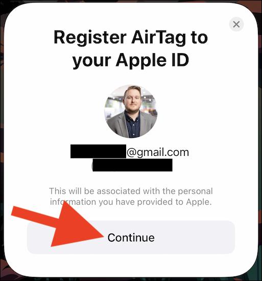 Cách thiết lập và ghép nối AirTag với iPhone hoặc iPad
