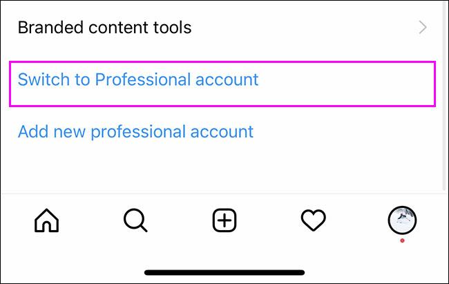 Cách chuyển đổi từ tài khoản cá nhân sang tài khoản doanh nghiệp Instagram - Ảnh minh hoạ 4