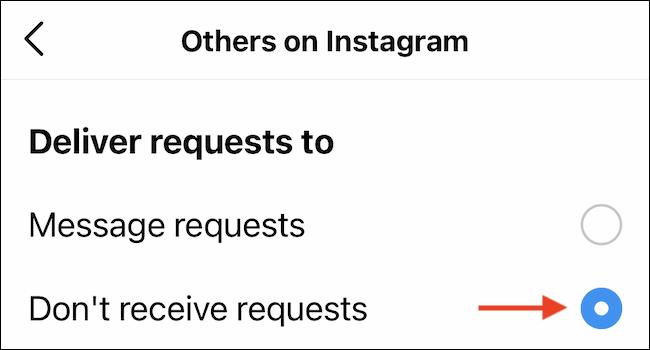 Cách tắt yêu cầu tin nhắn trong Instagram - Ảnh minh hoạ 8