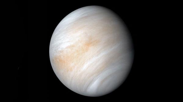 Độ dài 1 ngày trên sao Kim gần bằng 2/3 một năm thiên văn của Trái Đất. Ảnh: NASA.