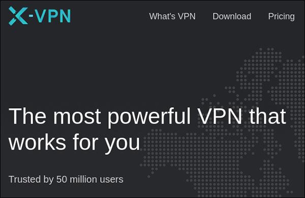 X-VPN có quảng cáo không trung thực