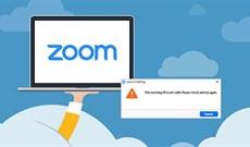 Cách sửa lỗi Invalid Meeting ID trên Zoom