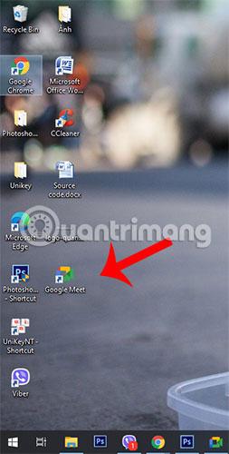Shortcut trên desktop