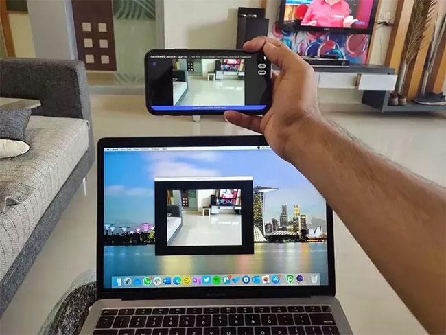 Bạn có đang sử dụng điện thoại làm webcam?