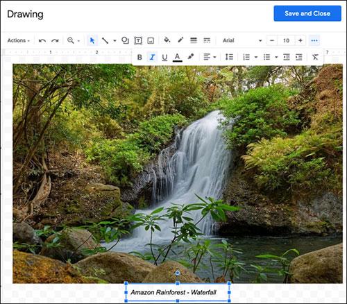 Cách thêm chú thích vào hình ảnh trong Google Docs - Ảnh minh hoạ 6