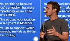 Signal tiết lộ bộ sưu tập dữ liệu rùng rợn của Facebook