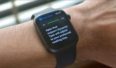 Cách tăng kích thước văn bản trên Apple Watch