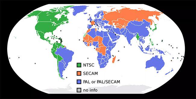 Hai hệ thống video analog chính là NTSC và PAL