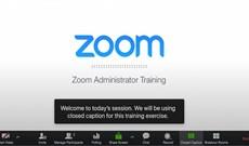 Cách thêm chú thích trực tiếp theo người nói trên Zoom