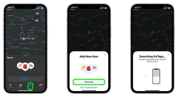 Cách thêm AirTag vào ứng dụng Find My trên iPhone