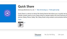 Samsung ra mắt ứng dụng Quick Share trên Windows 10, quyết cạnh tranh với AirDrop
