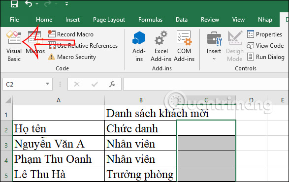 Cách chèn checkbox trong Excel - Ảnh minh hoạ 6
