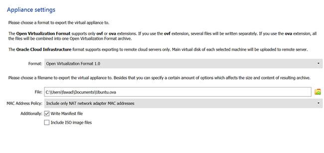 Kiểm tra Bao gồm các tệp hình ảnh ISO