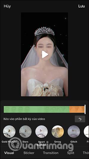 Cách quay video TikTok filter cô dâu - Ảnh minh hoạ 6