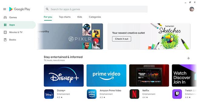 Google đã thêm hỗ trợ ứng dụng Android cho Chrome OS