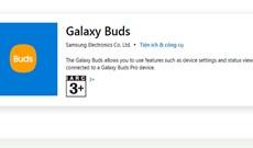 Samsung phát hành ứng dụng Galaxy Buds cho Windows 10