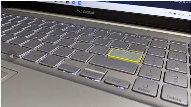 Màu sắc khác biệt xung quanh phím Enter tạo cảm giác dễ chịu
