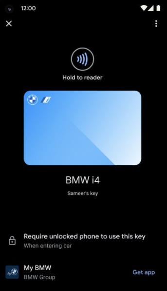 Mở khóa ô tô bằng điện thoại
