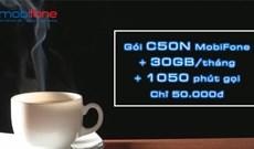 Cách đăng ký C50N MobiFone nhận 30GB/tháng