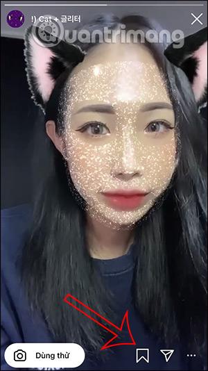 Cách tải filter tai mèo lấp lánh trên Instagram - Ảnh minh hoạ 5