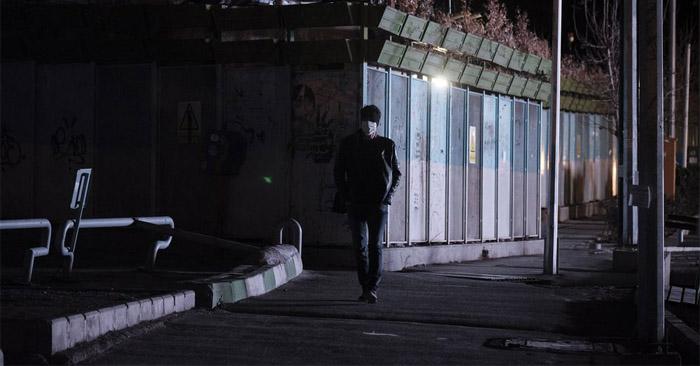 Khung cảnh thành phố Tehran, Iran, sau khi bị mất điện.