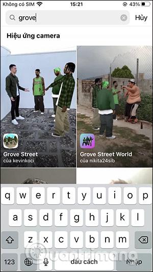 Cách tải filter nhân vật game GTA trên Instagram - Ảnh minh hoạ 4