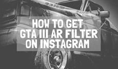 Cách tải filter nhân vật game GTA trên Instagram