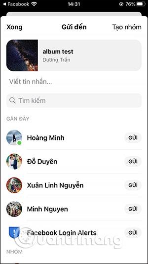 Cách chia sẻ album ảnh trên Facebook - Ảnh minh hoạ 5