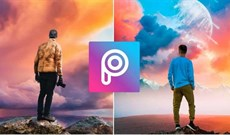Cách dùng PicsArt xóa chữ trong ảnh