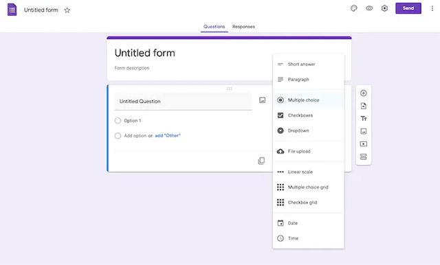 Cách chèn cuộc thăm dò ý kiến từ Google Form vào email - Ảnh minh hoạ 2
