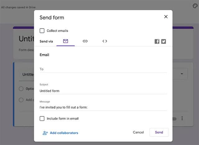 Cách chèn cuộc thăm dò ý kiến từ Google Form vào email - Ảnh minh hoạ 4