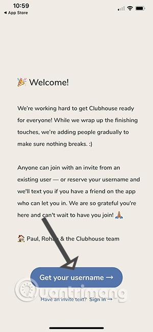 Đăng ký Clubhouse, tạo tài khoản Clubhouse