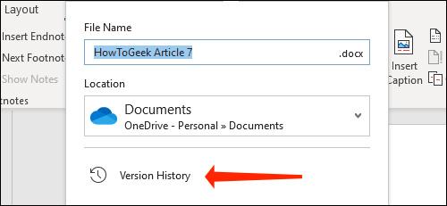 Cách xem và khôi phục phiên bản tài liệu Word