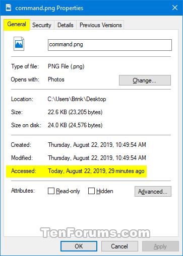 Cách bật/tắt cập nhật NTFS Last Access Time Stamp trong Windows 10