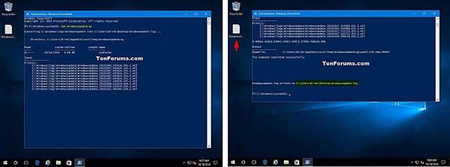 Cách đọc nhật ký Windows Update trong Windows 10