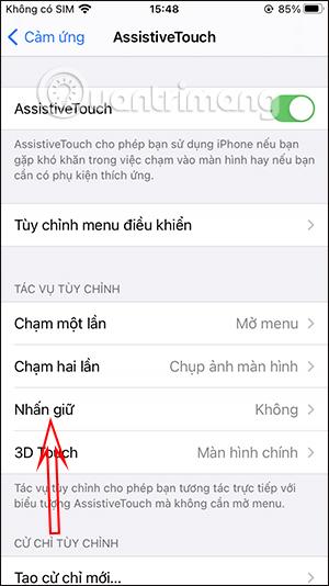 Cách chạm để tắt màn hình iPhone