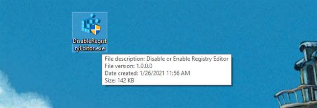 File DisableRegistryEditor.exe