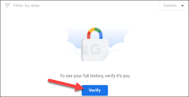 """Nhấp vào nút """"Verify"""""""
