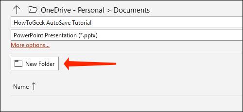 Cách tự động lưu slide PowerPoint vào OneDrive - Ảnh minh hoạ 5