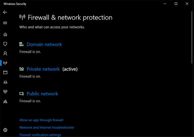 Xem lại tường lửa, VPN và phần mềm diệt virus