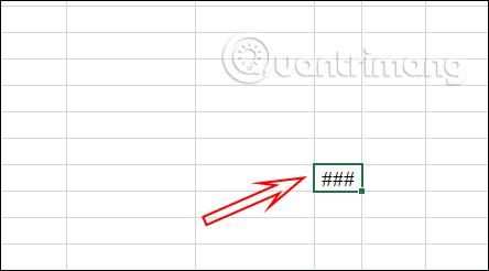 ### trong Excel là lỗi gì?